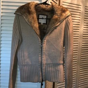 Women's Abercrombie Fitch sweater jacket vintage M